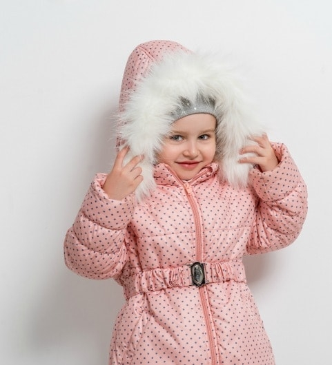 Cute Kid with Coat