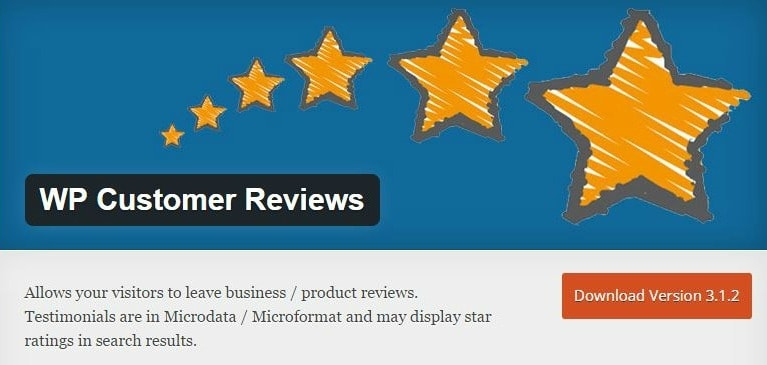 WordPress plugins - WP Customer Reviews