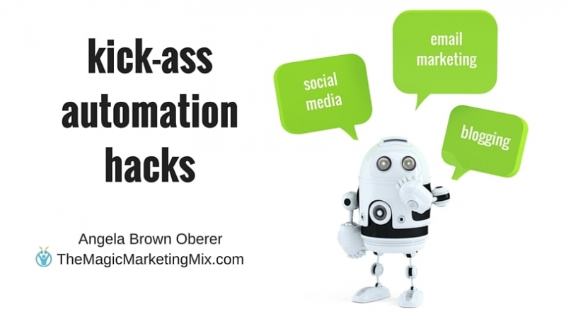 automation hacks Magic Marketing Mix