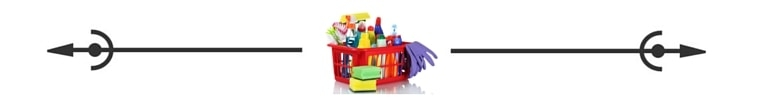 Cleaning Caddy spacer Savvy Cleaner