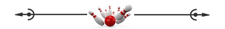 bowling spacer ©Savvy Cleaner
