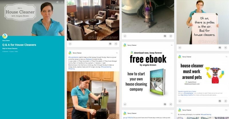 Social Media for House Cleaning – Savvy Cleaner