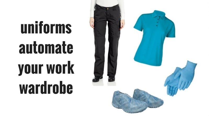 Automation - work wardrobe Savvy Cleaner