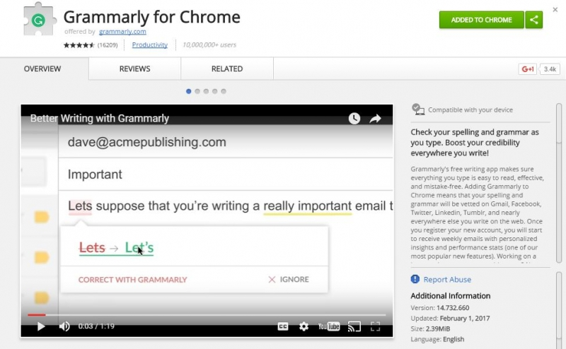 Grammarly for Guest Posting