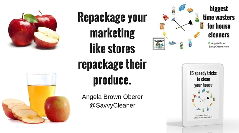 creative marketing uses, savvy cleaner