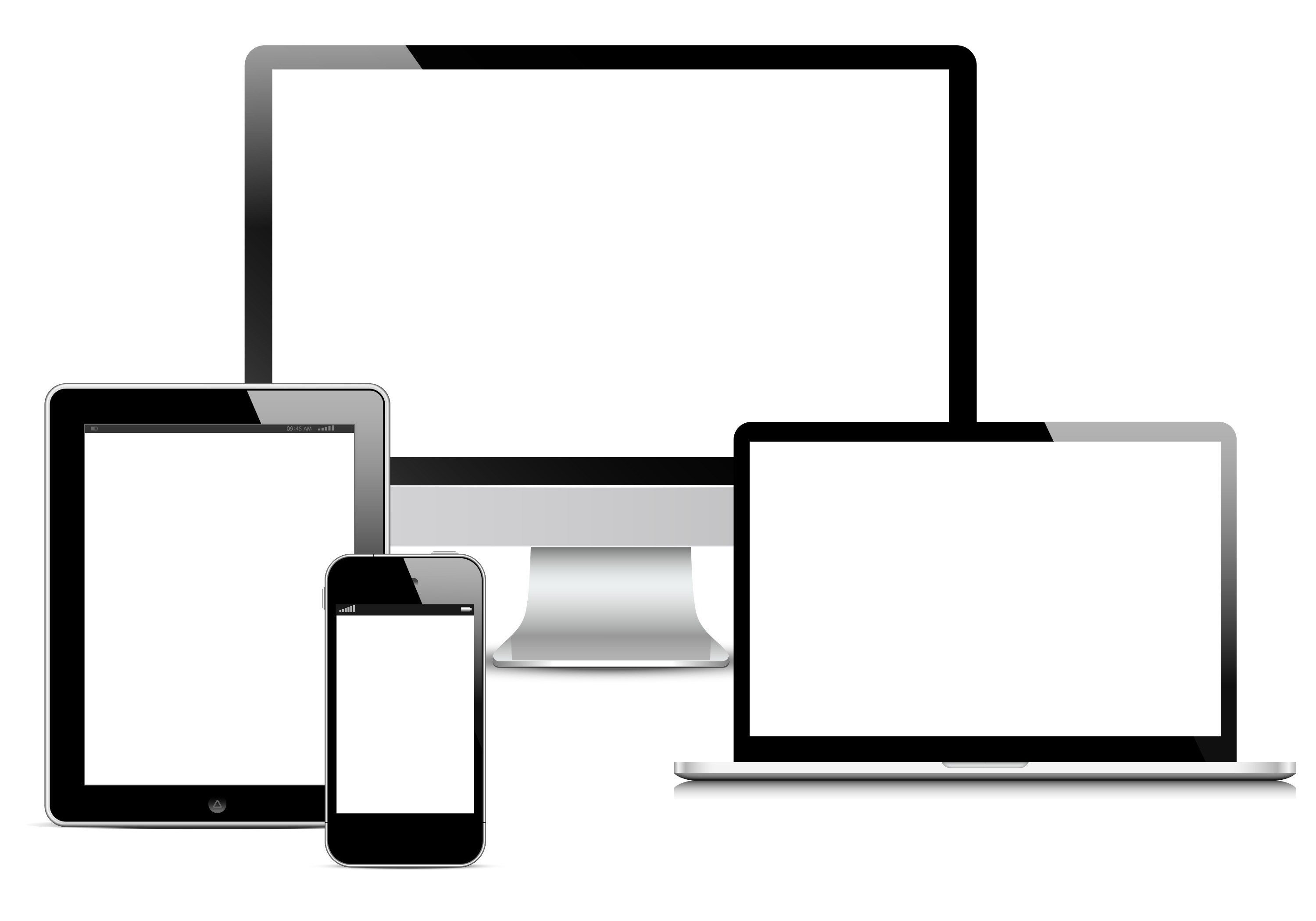 website marketing on responsive screens, Savvy Cleaner