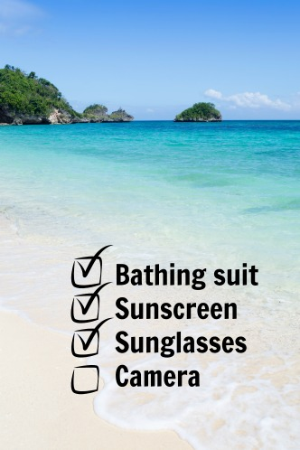 ocean island checklist
