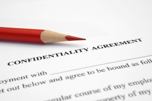 confidentiality agreement, Savvy Cleaner