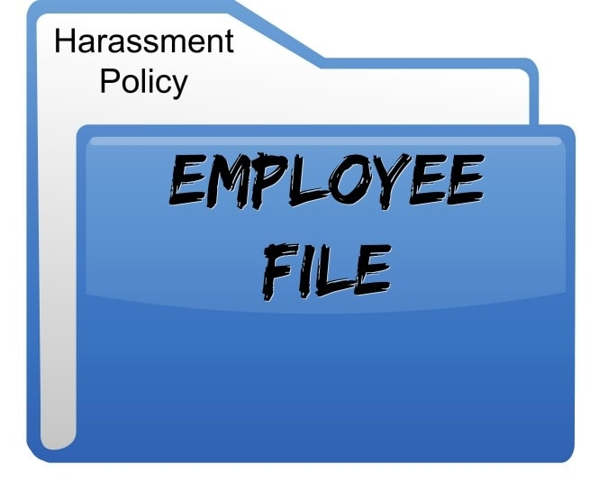 Sexual Harassment Policy for Employee File, Savvy Cleaner