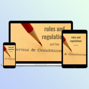 SCGC201 Rules-Regulations 2 by Savvy Cleaner