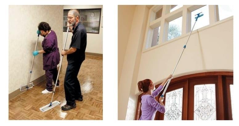 using-ergonomics-telescoping-wands-savvy-cleaner