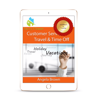 SCCS408 Travel Time Off, Customer Service, Savvy Cleaner