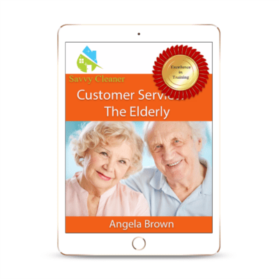 SCCS412 Working Around Elderly, Customer Service, Savvy Cleaner