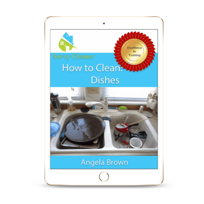 SCHT301 Dishes, How to Clean, Savvy Cleaner