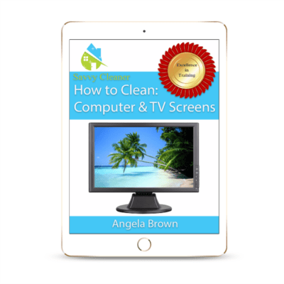 SCHT311 Computer TV Screens, How to Clean, Savvy Cleaner