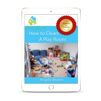 SCHT318 Playroom, How to Clean, Savvy Cleaner
