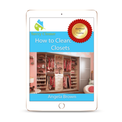 SCHT319 Closets, How to Clean, Savvy Cleaner