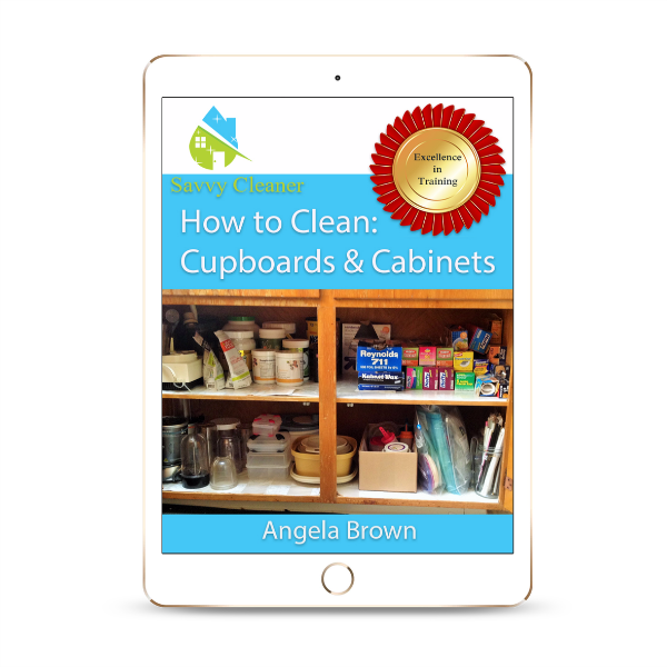 SCHT322 Cupboards, How to Clean, Savvy Cleaner