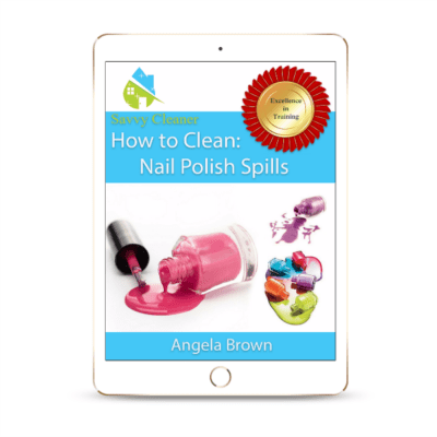 SCHT325 Nail Polish Spills, How to Clean, Savvy Cleaner