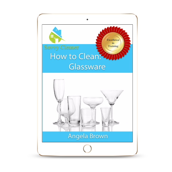 SCHT326 Glassware, How to Clean, Savvy Cleaner