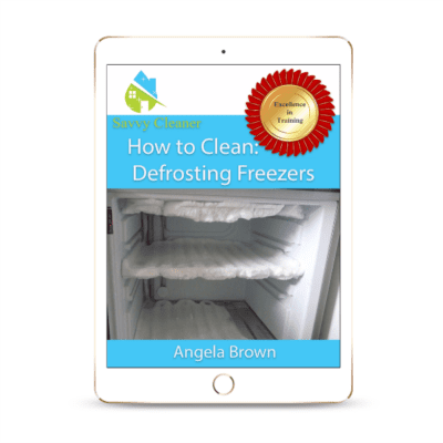 SCHT327 Defrosting Freezers, How to Clean, Savvy Cleaner