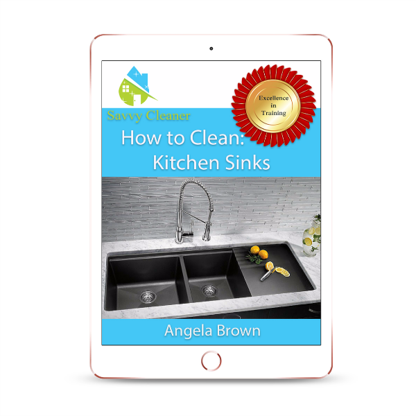 SCHT331 Kitchen Sinks, How to Clean, Savvy Cleaner