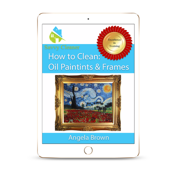 SCHT335 Oil Paintings Frames, How to Clean, Savvy Cleaner