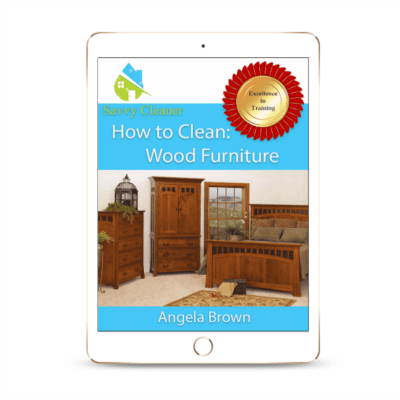 SCHT336 Wood Furniture, How to Clean, Savvy Cleaner