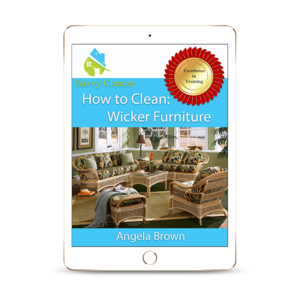 SCHT337 Wicker Furniture, How to Clean, Savvy Cleaner