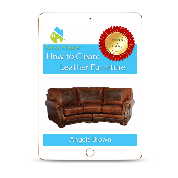 SCHT339 Leather Furniture, How to Clean, Savvy Cleaner