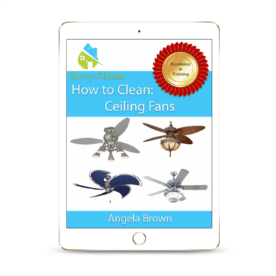 SCHT345 Ceiling Fans, How to Clean, Savvy Cleaner
