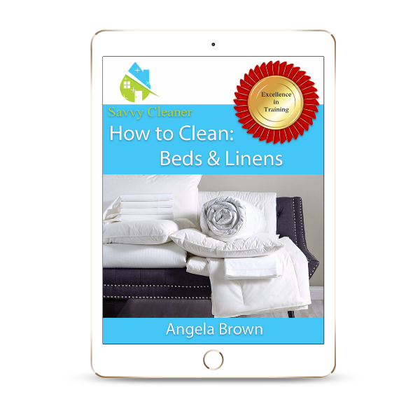 SCHT346 Beds and Linens, How to Clean, Savvy Cleaner