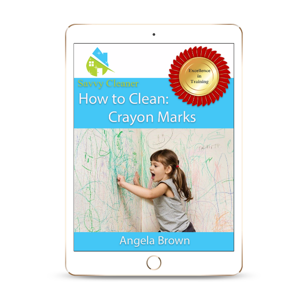 SCHT350 Crayon Marks, How to Clean, Savvy Cleaner