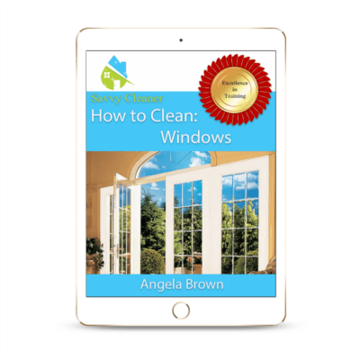 SCHT354 Windows, How to Clean, Savvy Cleaner