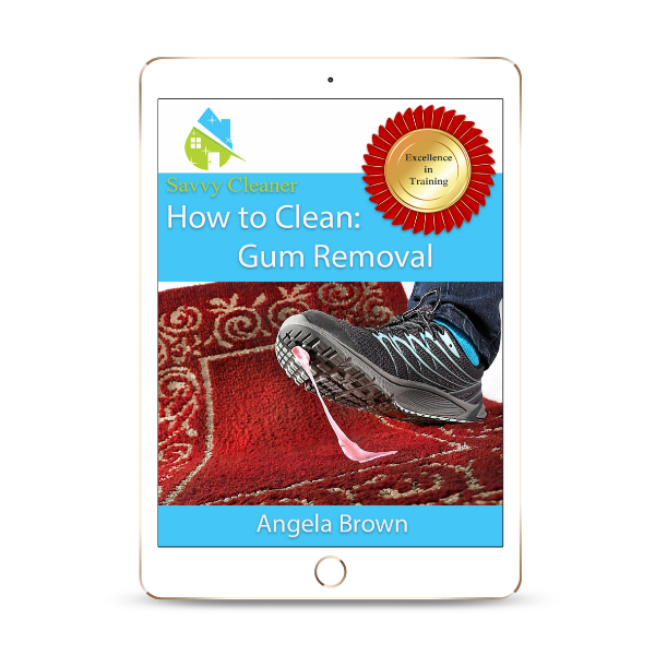 SCHT355 Gum Removal, How to Clean, Savvy Cleaner