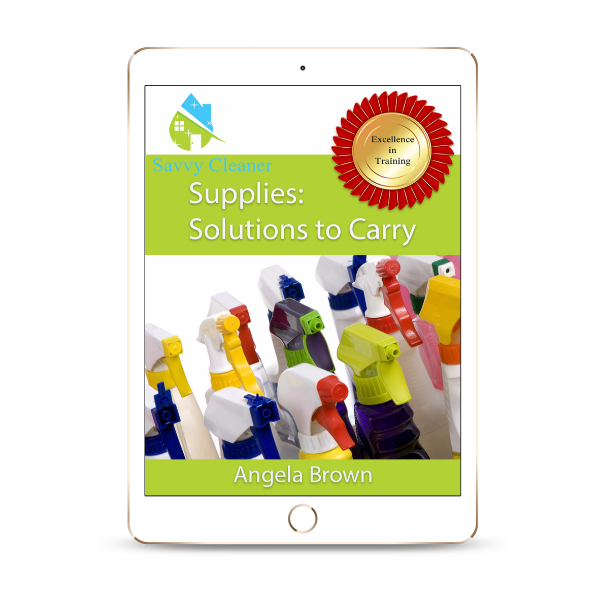 SCS605 Supplies to Carry, Supplies Solutions, Savvy Cleaner