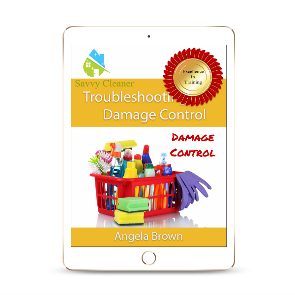 SCTS512 Damage Control, Troubleshooting, Savvy Cleaner