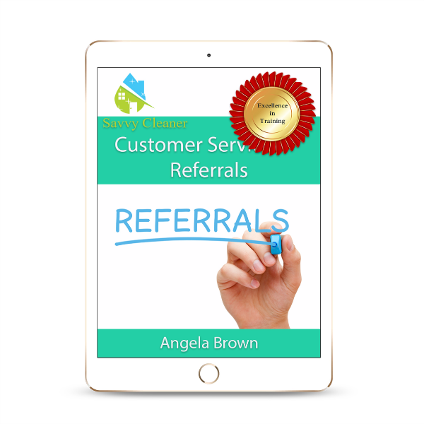 SCUS703 Referrals, Upsell, Cross Sell, Savvy Cleaner