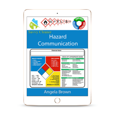 SCWC809 Hazard Communication, Workplace Compliance, Savvy Cleaner