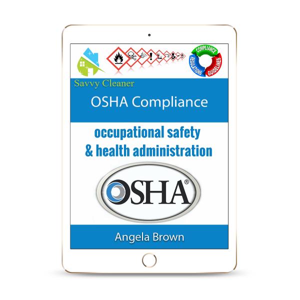 SCWC812 OSHA Compliance, Workplace Compliance, Savvy Cleaner