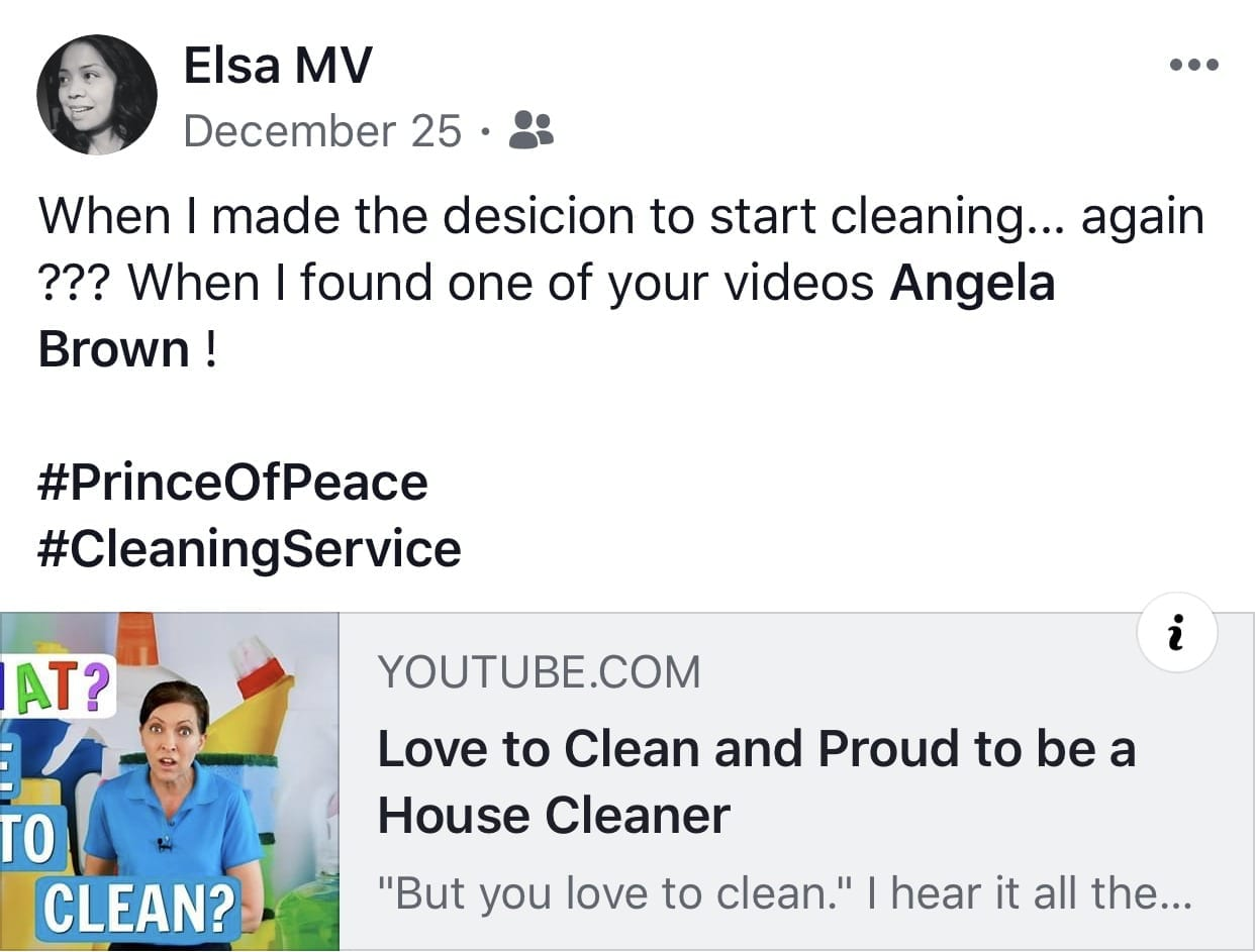 I love podcasts, now I'm hooked, Ask a House Cleaner Testimonial