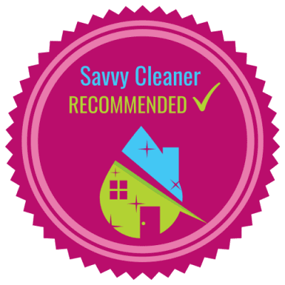 Savvy Cleaner Recommended x 500