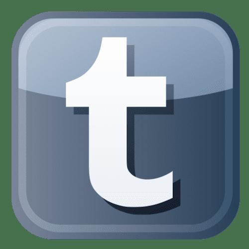 Tumblr Logo Png 500 x 500