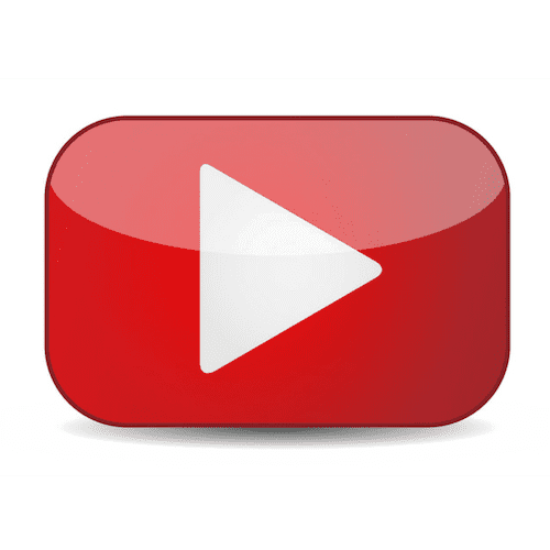You Tube Red Button Logo png