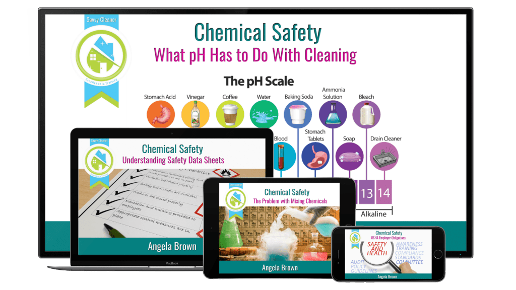 Chemical Safety, Savvy Cleaner Training Courses