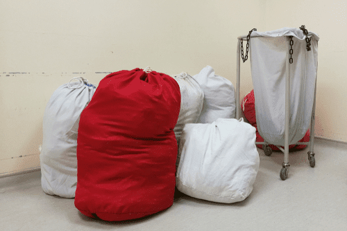 Contaminated Linens Laundry - Color Coded Bags