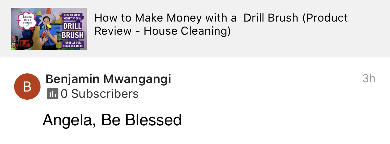 Be blessed, Savvy Cleaner Product Review Testimonial