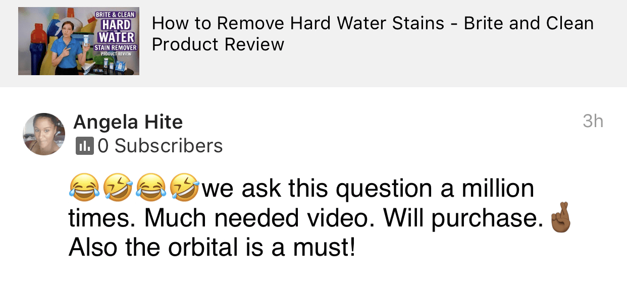 Much needed video, Savvy Cleaner Product Review Testimonial