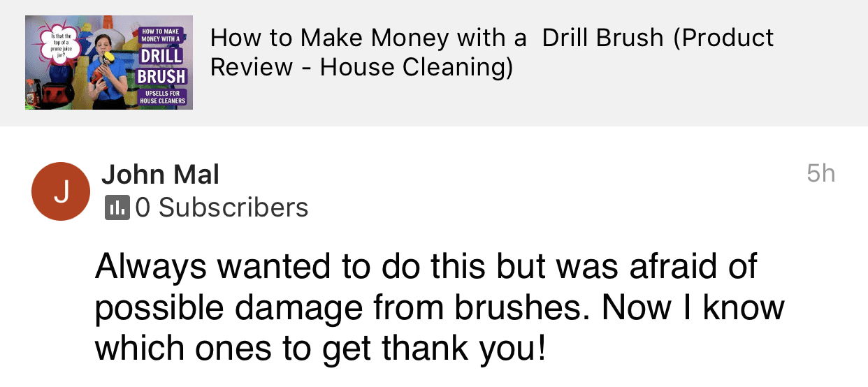 Now I know which ones to get, Savvy Cleaner Product Review Testimonial