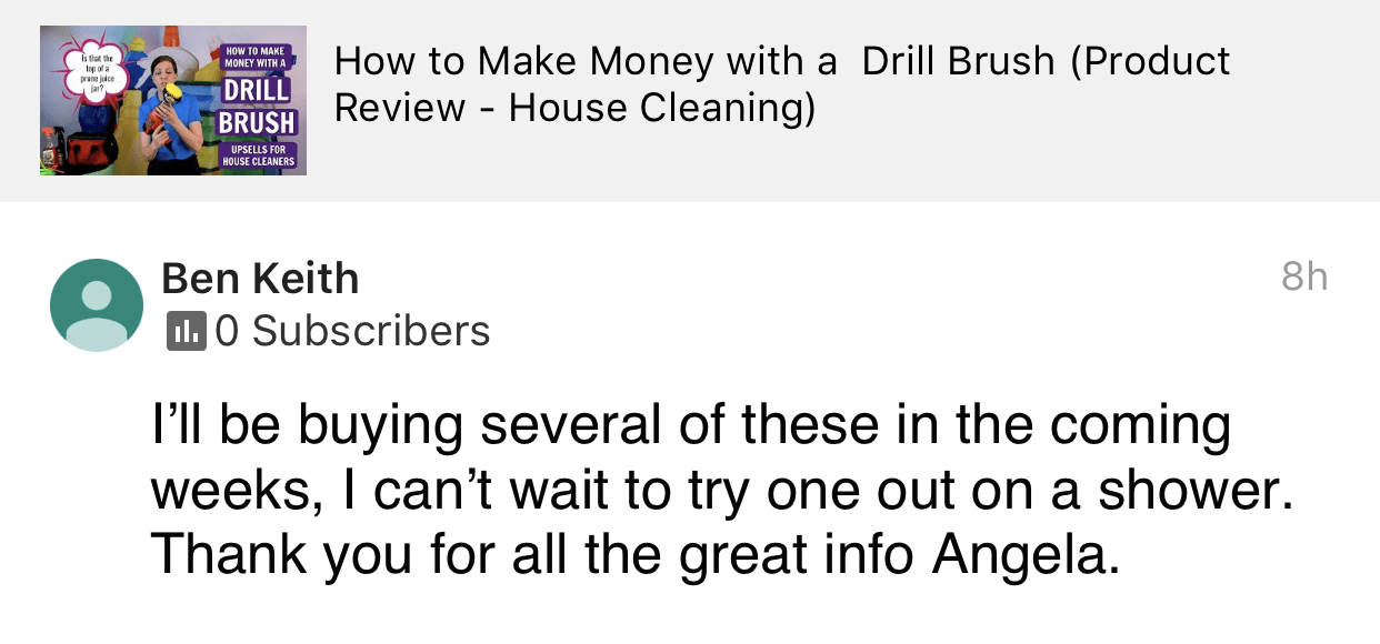 Will be buying several, Savvy Cleaner Product Review Testimonial